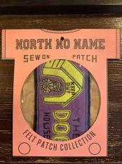 North No Name FELT PATCH (DOG)
