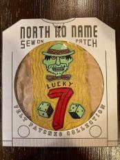 North No Name FELT PATCH (LUCKY 7)