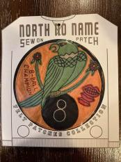 North No Name FELT PATCH (8-BALL)