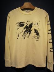 WEIRDO  ATOMIC SPACE - L/S T-SHIRTS (D)