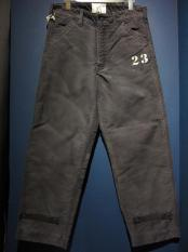 WEIRDO PADLOCKER - DECK PANTS(VINTAGE FINISH)NAVY