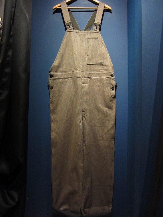 by gladhand バイ グラッドハンド migrant overall brown swindle