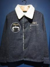 5WHISTLE /  SAILOR'S BOA JACKET (INDIGO)