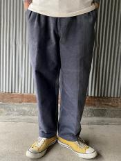 NORTH NO NAME/ TWO TUCK CORDUROY TROUSERS(GRY)