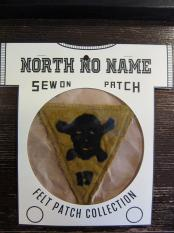 North No Name FELT PATCH (17)