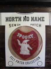 North No Name FELT PATCH (SPOOKY)