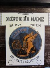 North No Name FELT PATCH (AIRBONE)