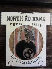 North No Name FELT PATCH (EAT CROW)