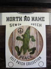 North No Name FELT PATCH (PEACE)