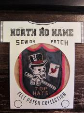 North No Name FELT PATCH (TOP HATS)