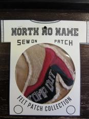 North No Name FELT PATCH (STOMP OUT)