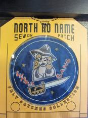 North No Name FELT PATCH (WHOLE GANG)