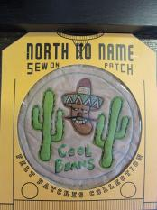 North No Name FELT PATCH (COOL BEANS)