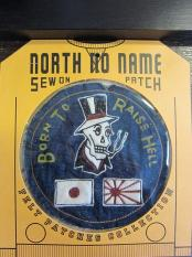 North No Name FELT PATCH (BORN TO RAISE HELL)