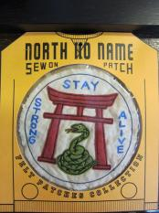 North No Name FELT PATCH (STAY)