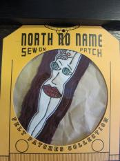 North No Name FELT PATCH (LADY)