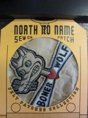 North No Name FELT PATCH (BONER WOLF)