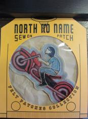North No Name FELT PATCH (BIKE)