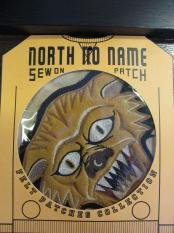 North No Name FELT PATCH (TIGER)