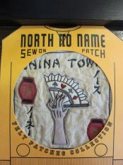 North No Name FELT PATCH (CHINA TOWN)