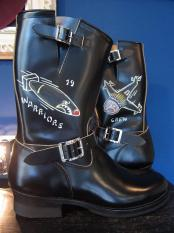 NORTH NO NAME/HAND PAINTED ENGINEER BOOTS